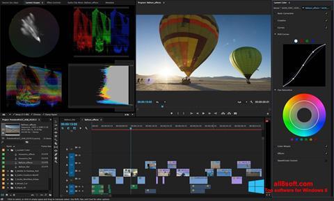 Ekrānuzņēmums Adobe Premiere Pro Windows 8