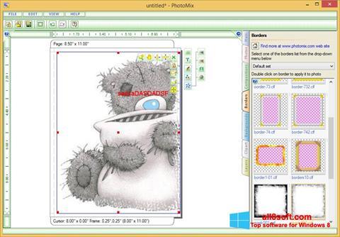 Ekrānuzņēmums PhotoMix Collage Windows 8