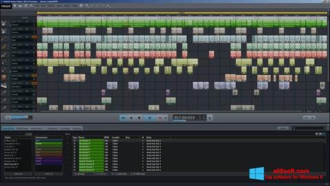 Ekrānuzņēmums MAGIX Music Maker Windows 8