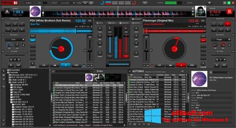 Ekrānuzņēmums Virtual DJ Windows 8