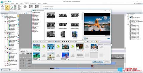 Ekrānuzņēmums VSDC Free Video Editor Windows 8