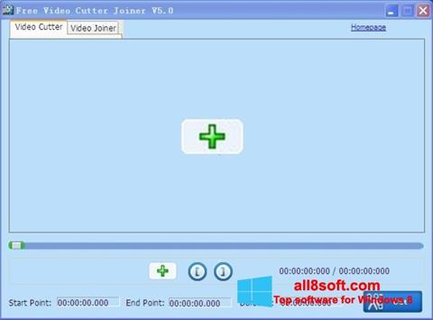 Ekrānuzņēmums Free Video Cutter Windows 8