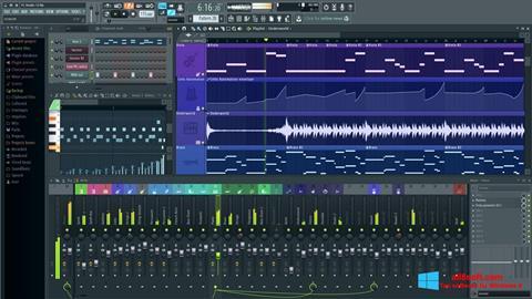 Ekrānuzņēmums FL Studio Windows 8