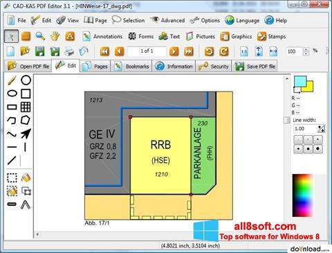 Ekrānuzņēmums PDF Reader Windows 8